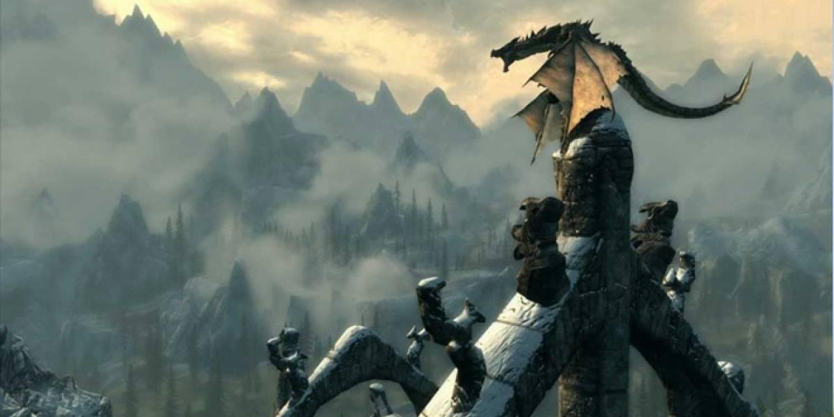 Parche 1.4 de Skyrim llega hoy a Xbox Live