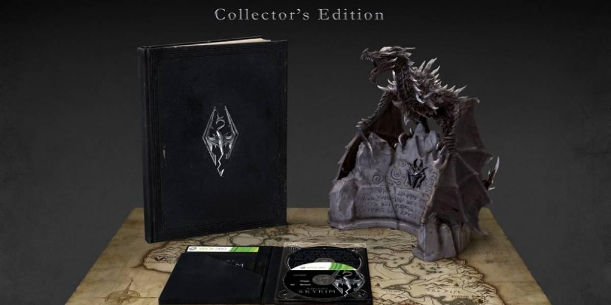 Se revela la edición para coleccionistas de The Elder Scrolls V: Skyrim