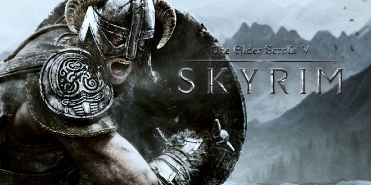Skyrim supera a Battlefield 3 en lo más jugado de Xbox Live