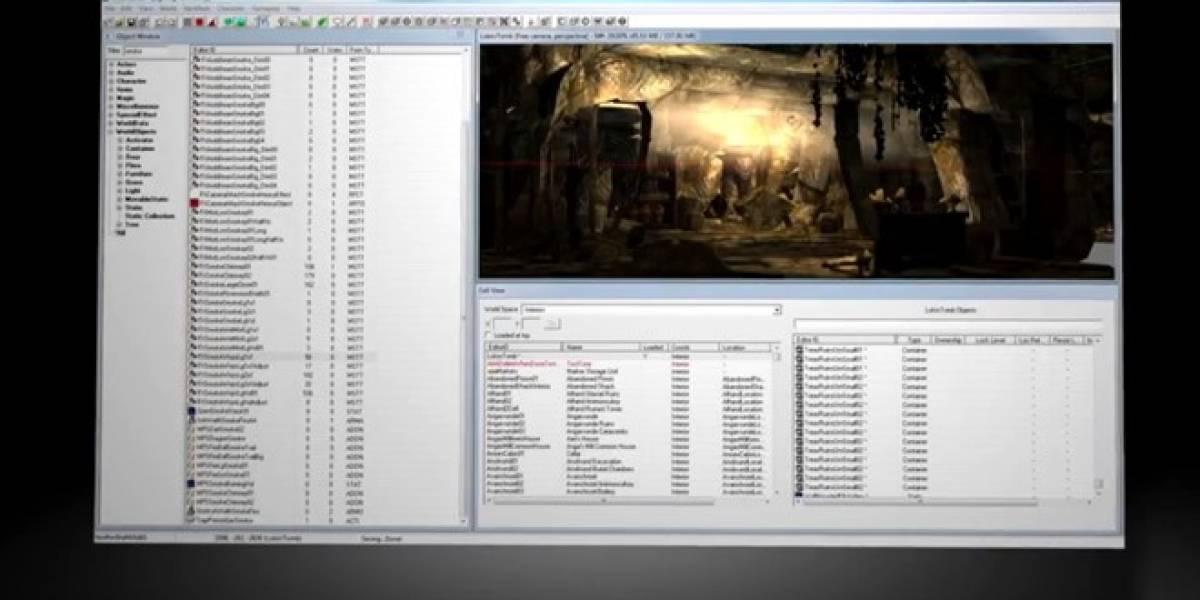 Un vistazo al Creation Kit y al Workshop de Skyrim