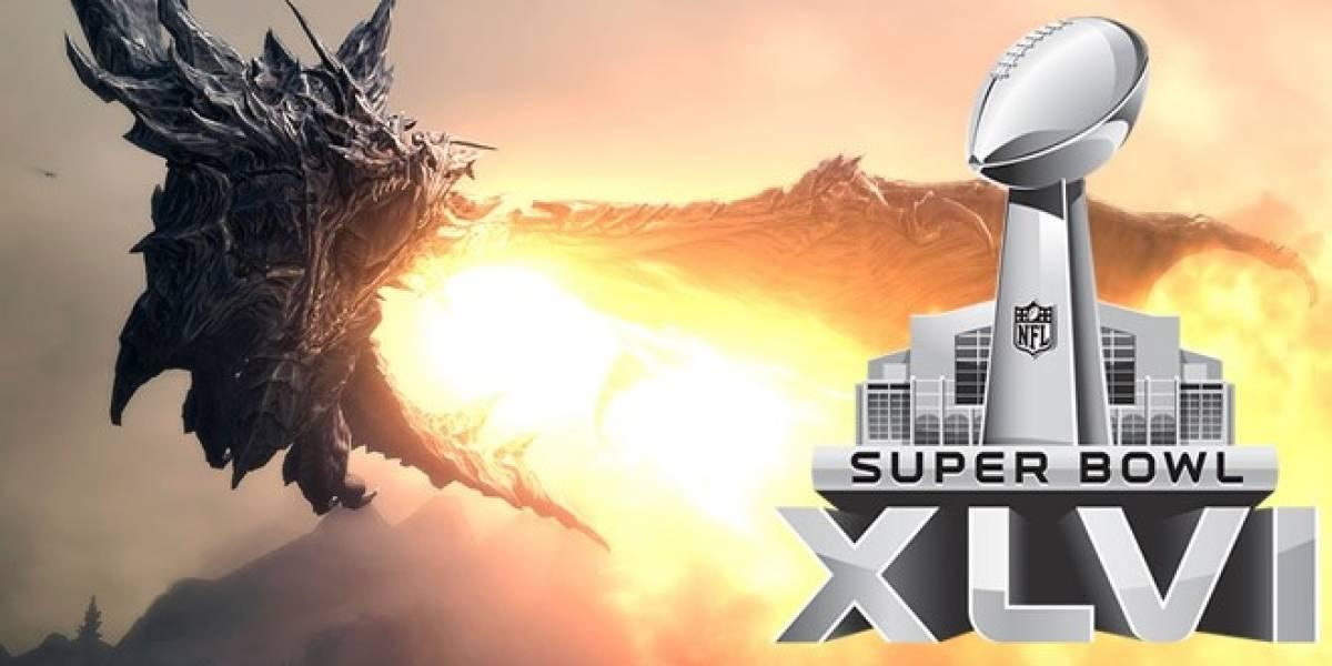 Skyrim predice el resultado del Super Bowl XLVI