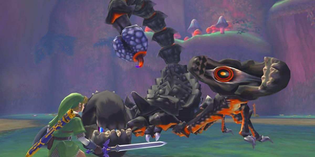 Nintendo promete reparar el problema de Skyward Sword
