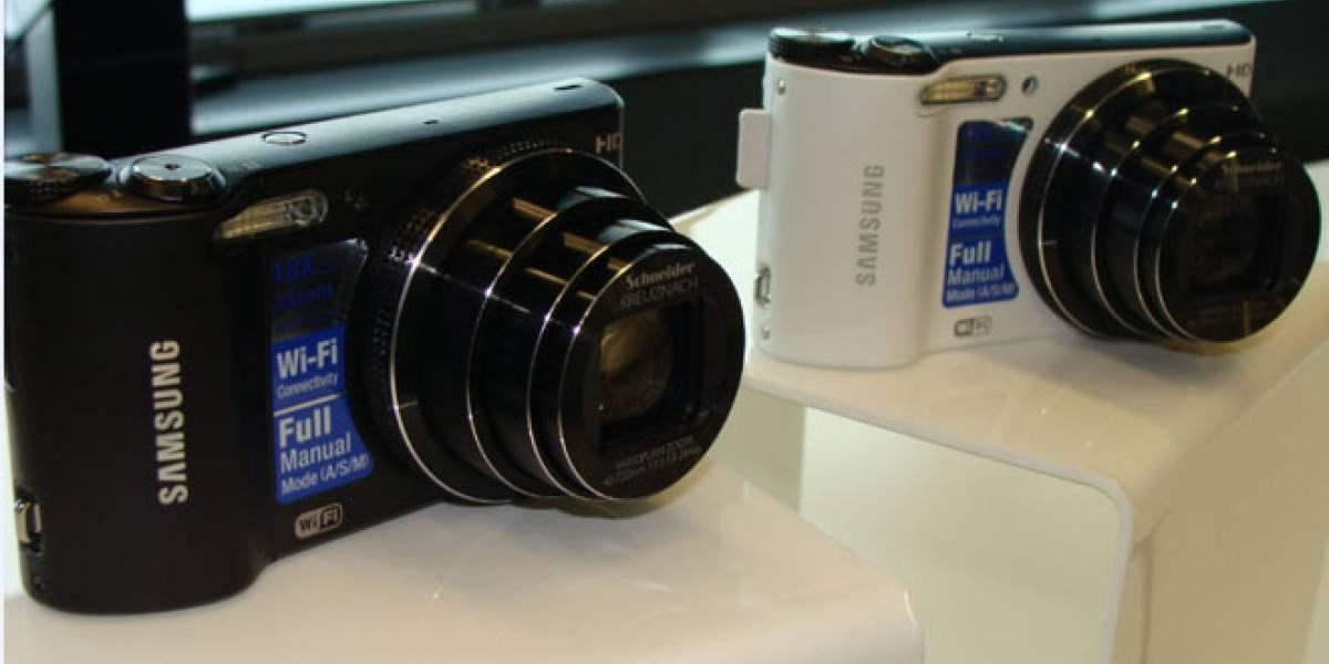 España: Samsung nos presentó sus cámaras 'inteligentes'
