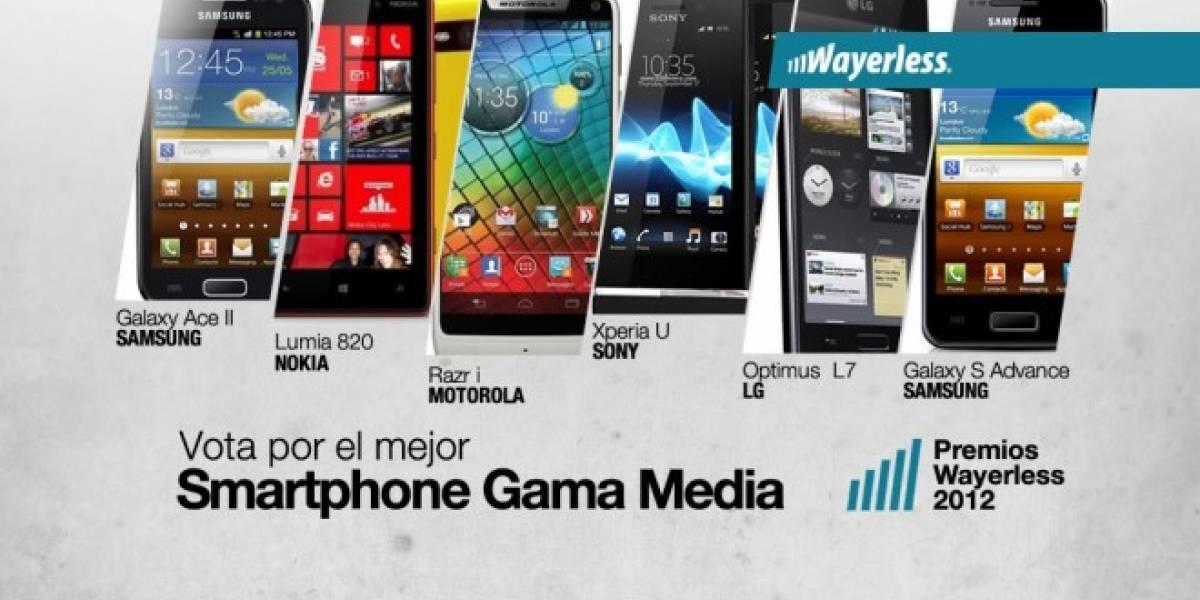 Vota por el mejor Smartphone Gama Media 2012