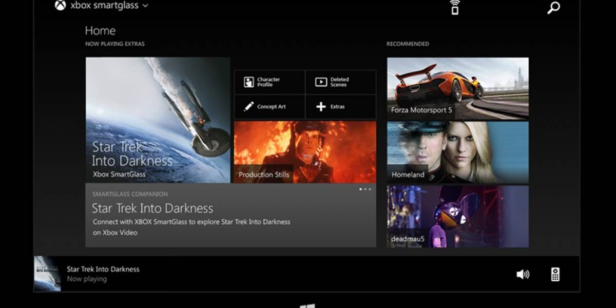Ya está disponible Xbox SmartGlass