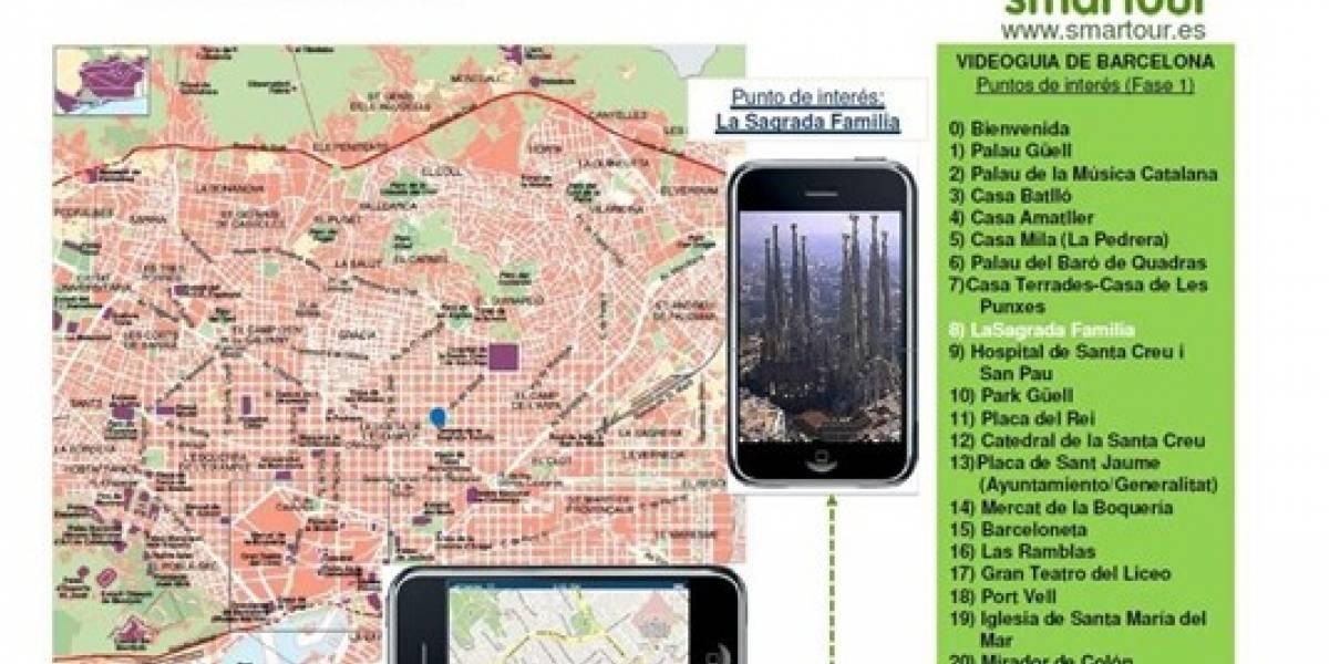 Barcelona tendrá su videoguía Smartour para móviles