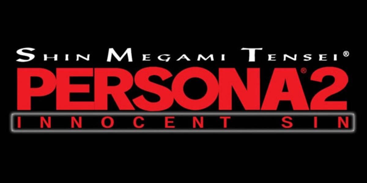 Shin Megami Tensei: Persona 2: Innocent Sin llega este mes al PSP