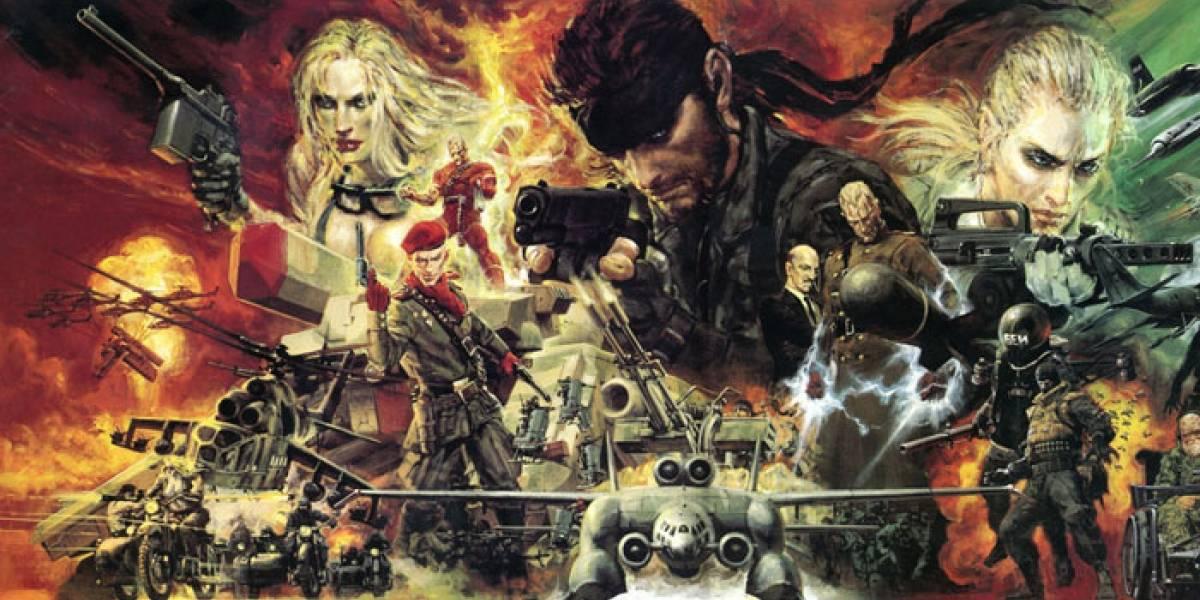 Metal Gear Solid: Snake Eater 3D se lanzará en Noviembre