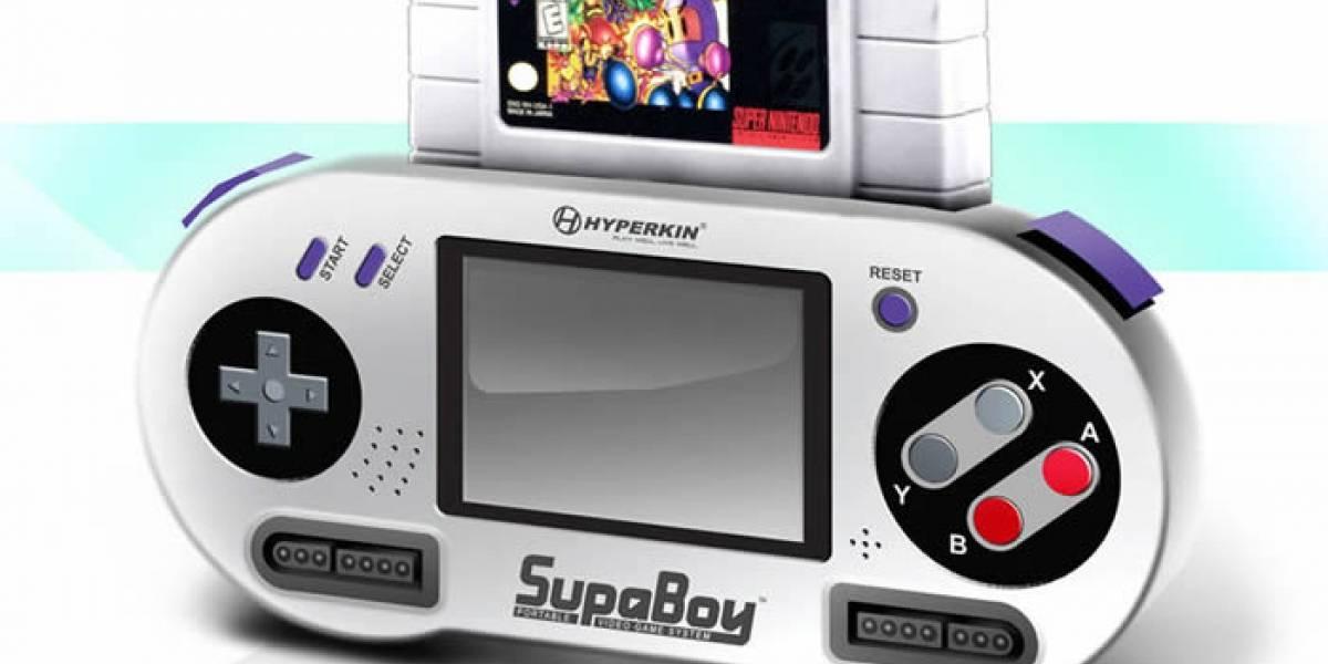 Un SNES portátil para recordar viejos tiempos y llevarlo en el bolsillo