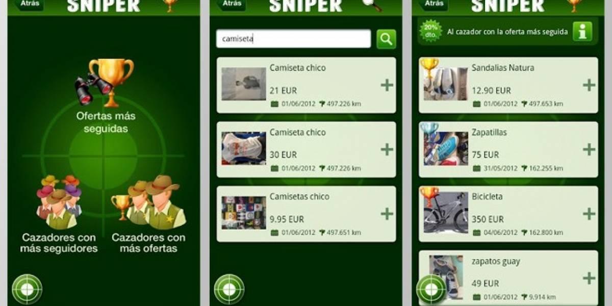 España: Contra la crisis, caza y comparte ofertas con MySniper