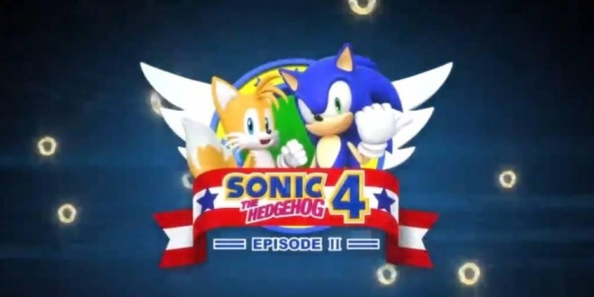 El segundo episodio de Sonic 4 va a ser el último