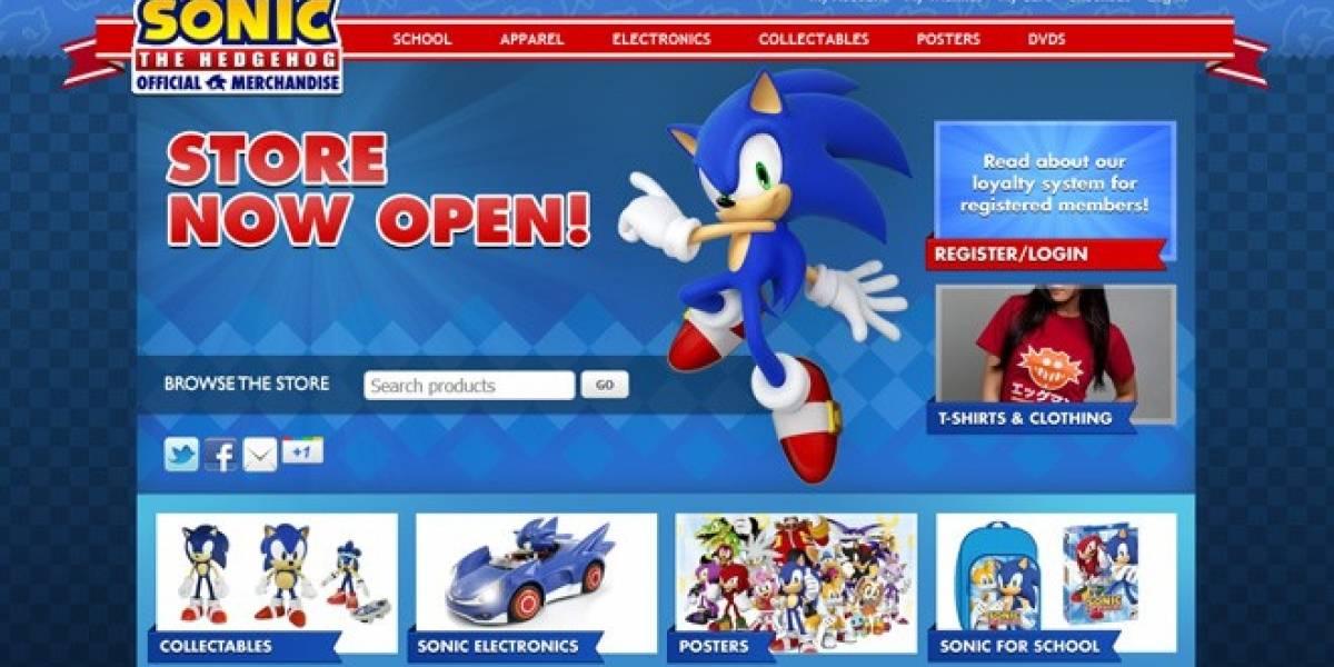 Sega abre una tienda en línea dedicada a Sonic