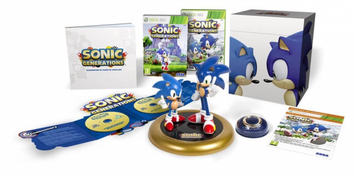 Sonic Generations aparecerá a la venta muy pronto