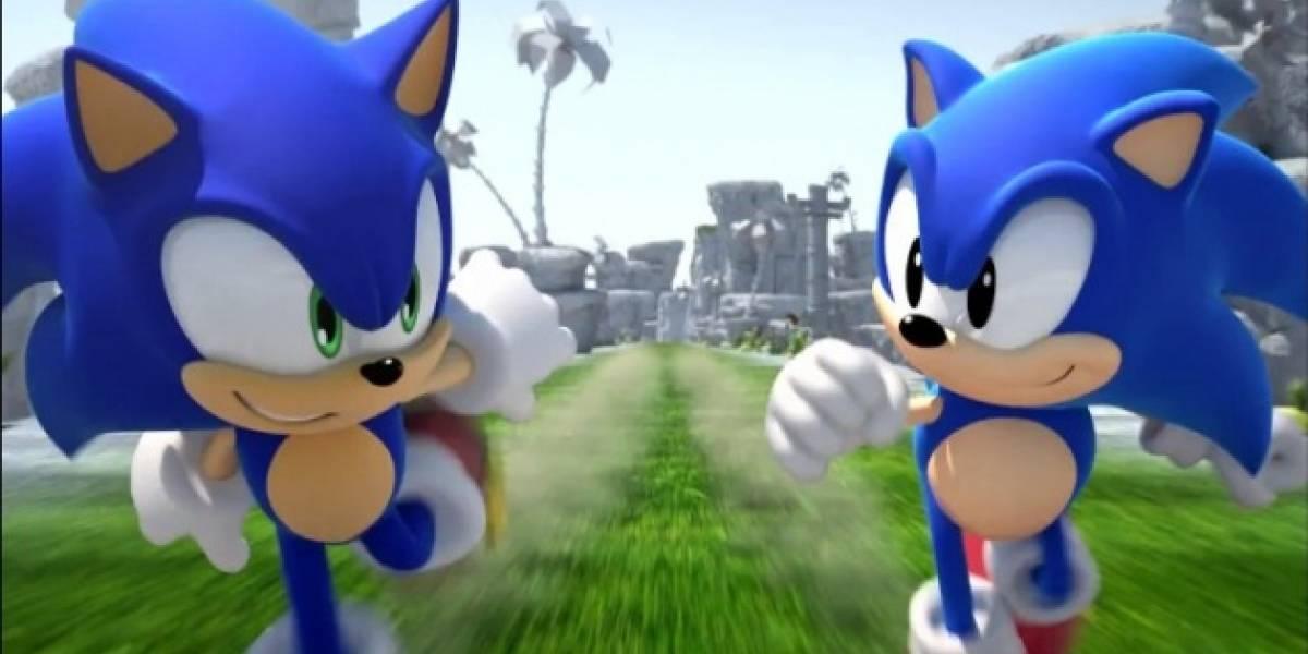 Nuevos videos con jugabilidad de Sonic Generations