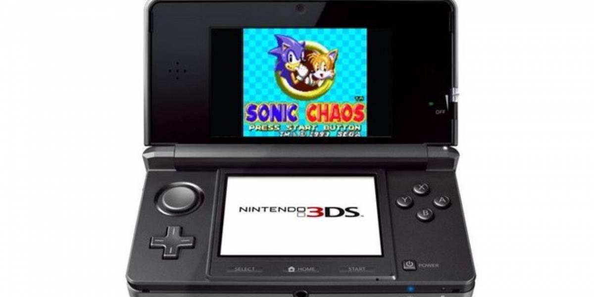 Futurología: Juegos de Game Gear y Turbografx-16 pronto estarían disponibles para Nintendo 3DS