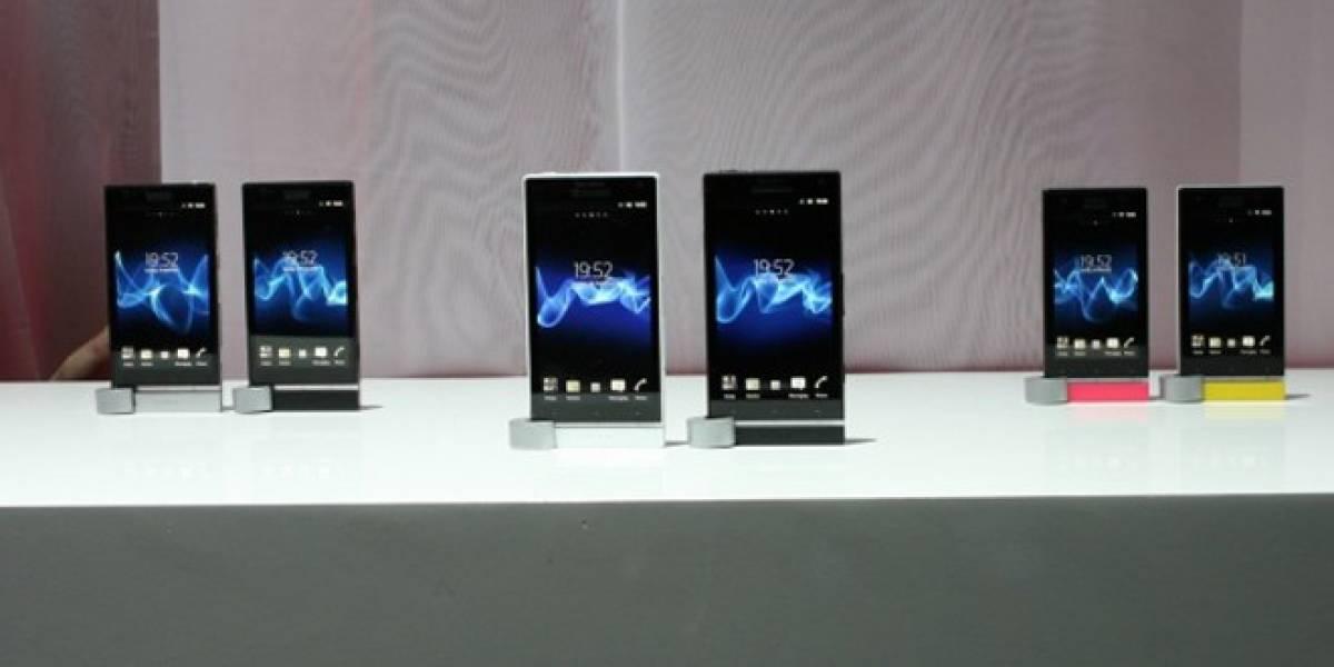 Sony prepara a los nuevos integrantes de la familia Xperia