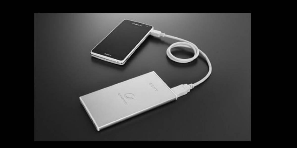 Sony anuncia baterías externas ultra-delgadas para móviles y tablets
