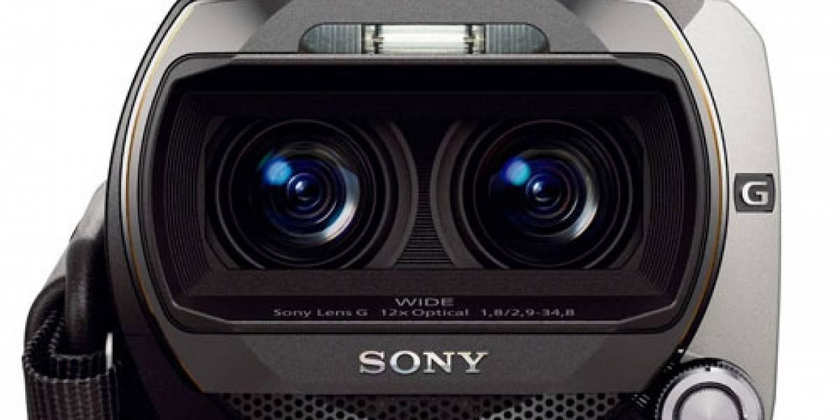 """CES 2011: Sony HDR-TD10, una handycam con grabación """"Double Full HD"""" para video 3D"""