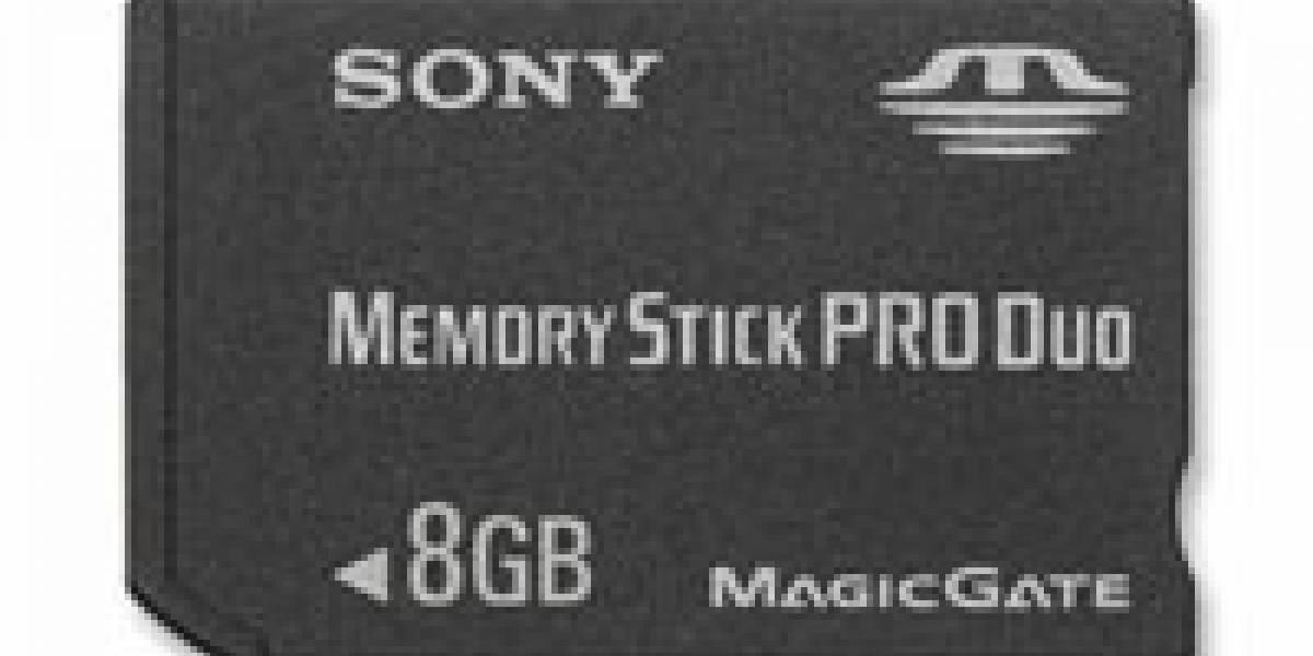 CES: Sony anuncia Memory Stick de 8GB