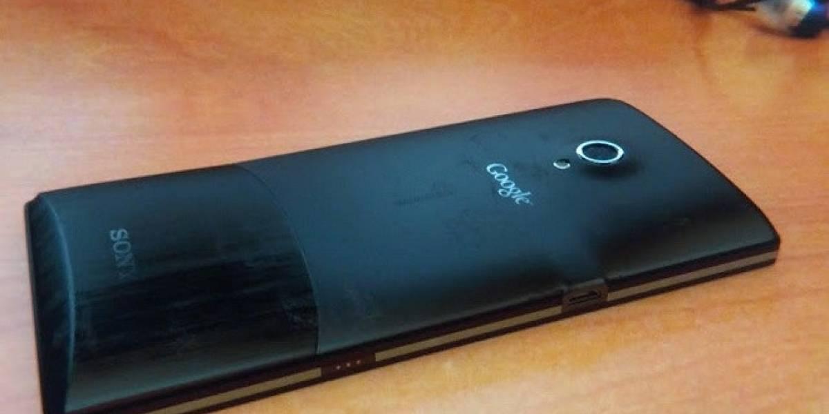 Se filtran imágenes del prototipo del Sony Nexus X