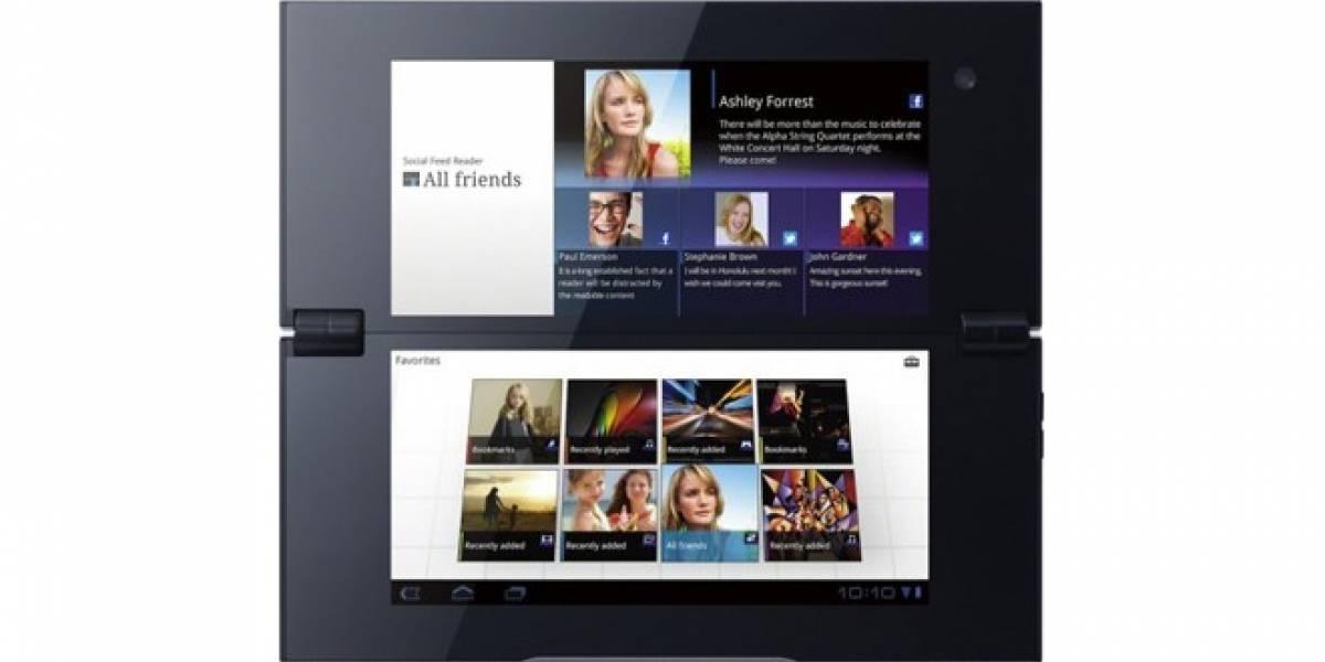 La Sony Tablet P empezará a recibir Ice Cream Sandwich en unos días