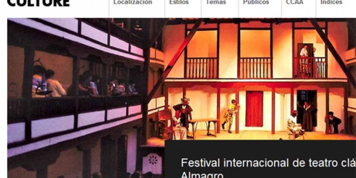 España muestra su cultura con un escaparate en la Web