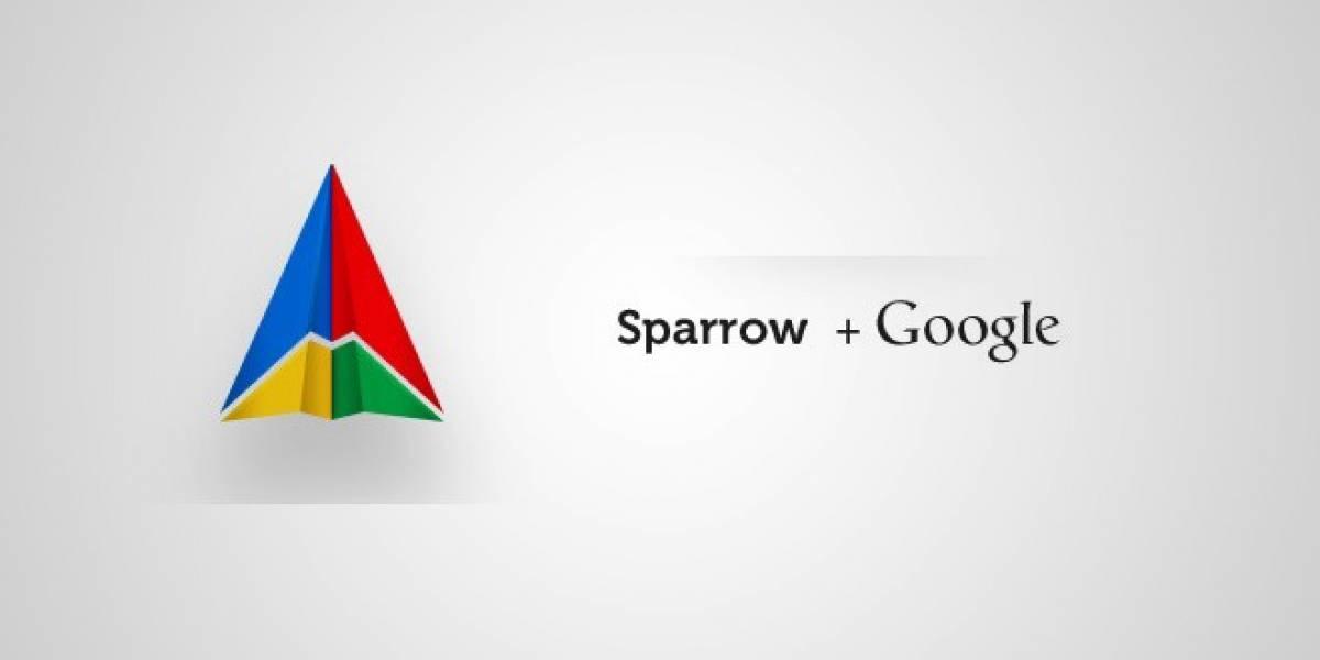 Sparrow anuncia que fue comprado por Google