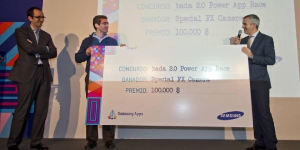 Un español gana US$ 100.000 en concurso de aplicaciones Bada 2.0 Power App Race