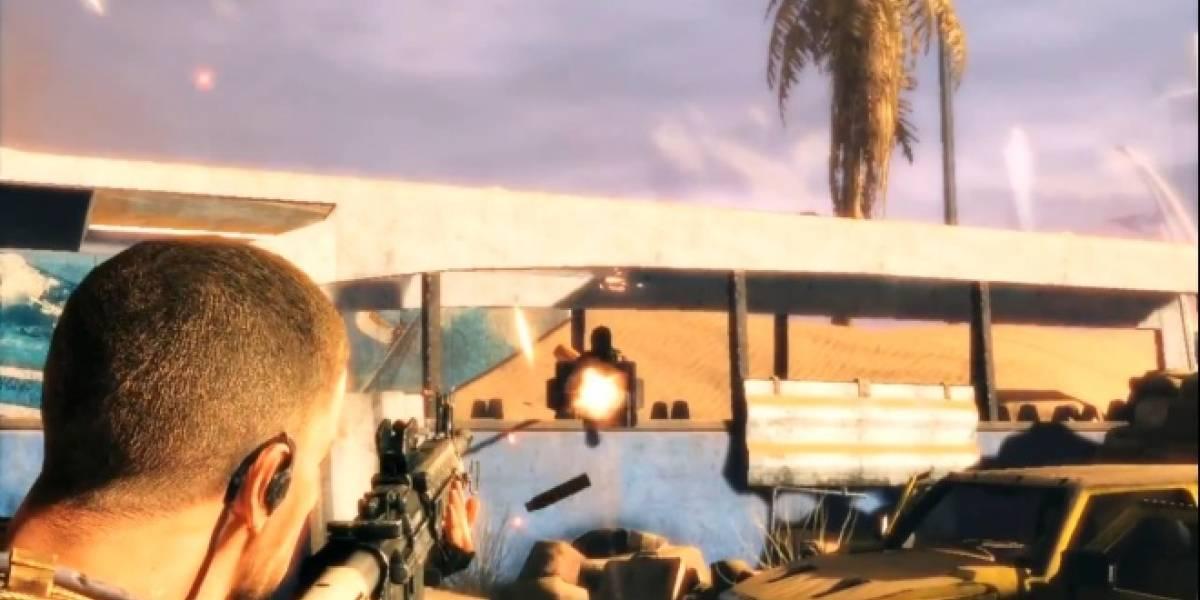 Spec Ops: The Line muestra jugabilidad y arena en su nuevo trailer