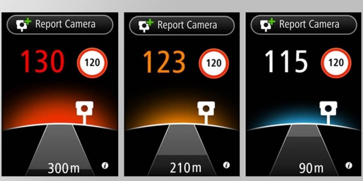 ¿Dónde está el radar? Tu iPhone y TomTom te lo dicen