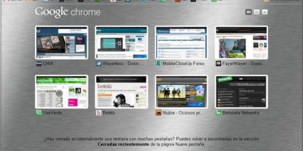 Google Chrome libera versión 3