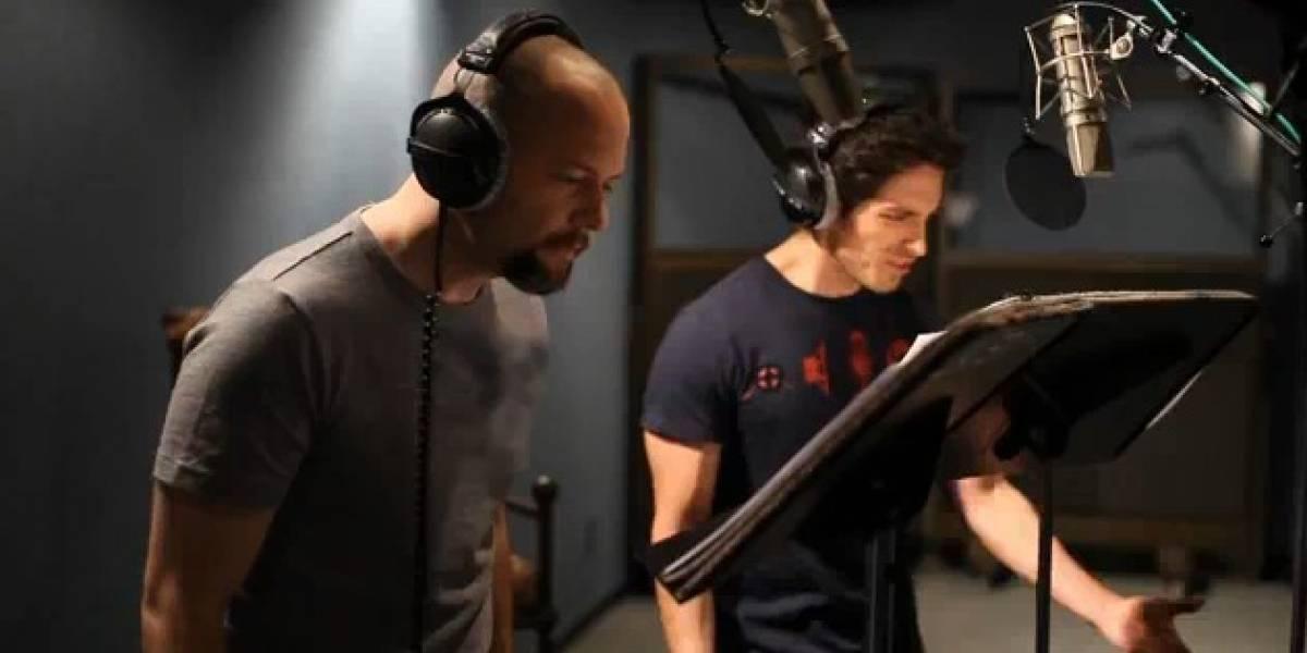 Las voces de los protagonistas de Spider-Man: Edge of Time en un video promocional