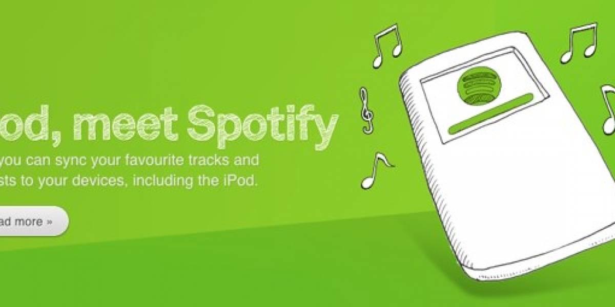 Spotify entra a competir con iTunes y lanza servicio de descarga de música