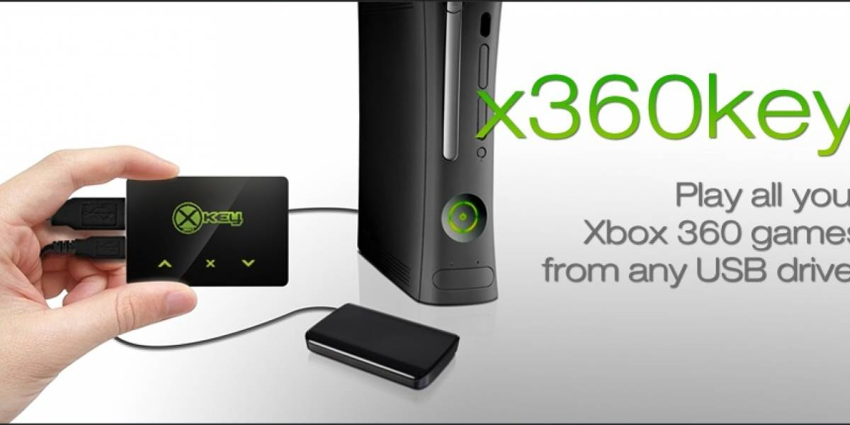 x360key: El modchip que permite correr juegos de Xbox desde una USB