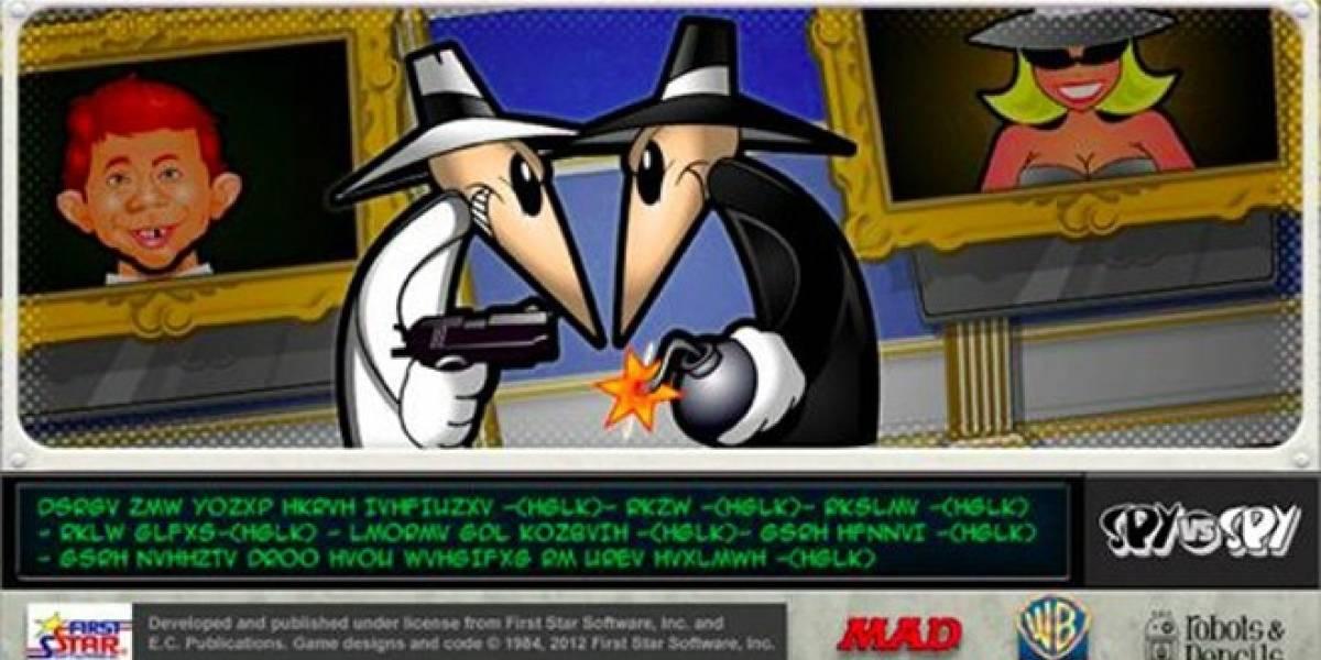 El legendario Spy vs Spy tendrá como terreno de batalla dispositivos iOS