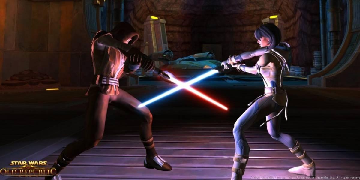 Star Wars: The Old Republic alcanza su millón de usuarios más rápido que cualquier otro MMORPG