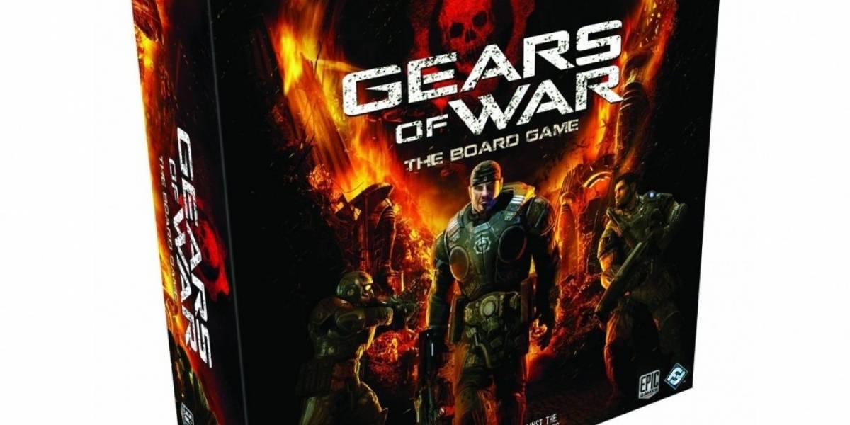 El juego de mesa de Gears of War ya tiene fecha de salida