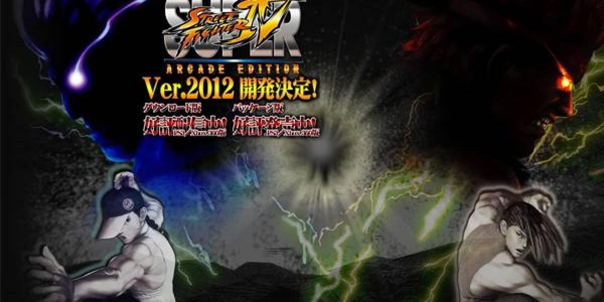 Capcom anuncia Street Fighter: Arcade Edition 2012