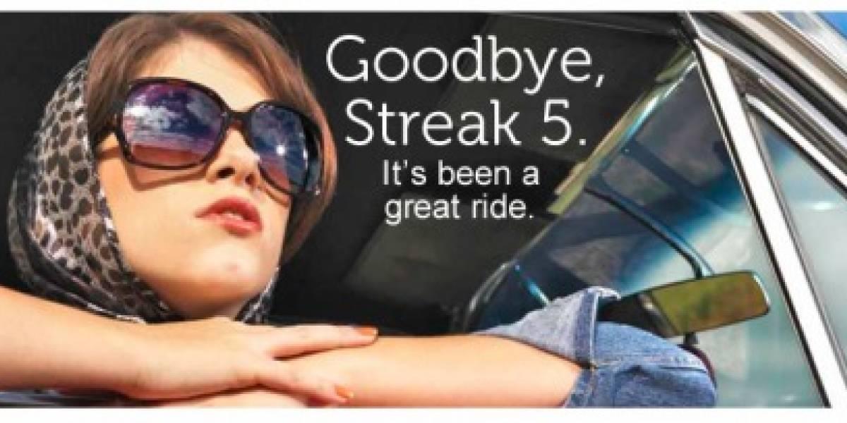 Hoy, Dell dio muerte al Streak 5