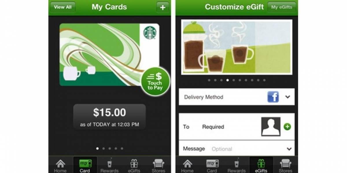 Ya puedes pagar Starbucks con PayPal desde tu iPhone