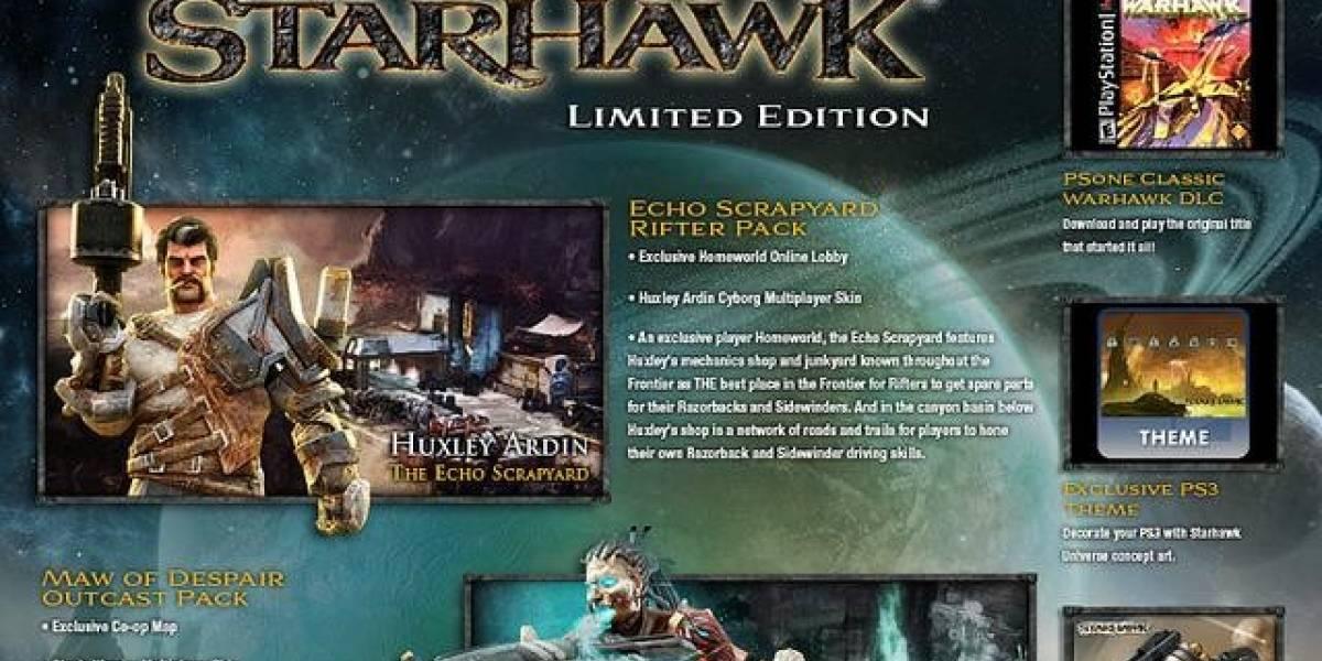 Edición limitada de Starhawk incluirá Warhawk de PS One