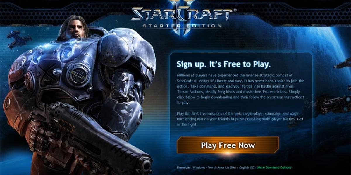 StarCraft II: Starter Edition llega para reemplazar la demo