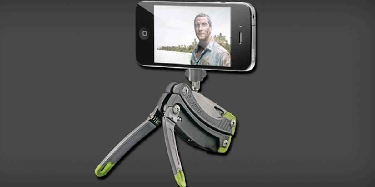 La navaja suiza con trípode para tu smartphone