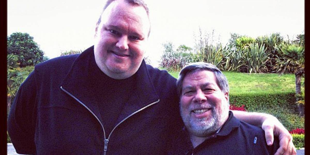 Steve Wozniak manifiesta abiertamente su apoyo a Kim Dotcom en entrevista