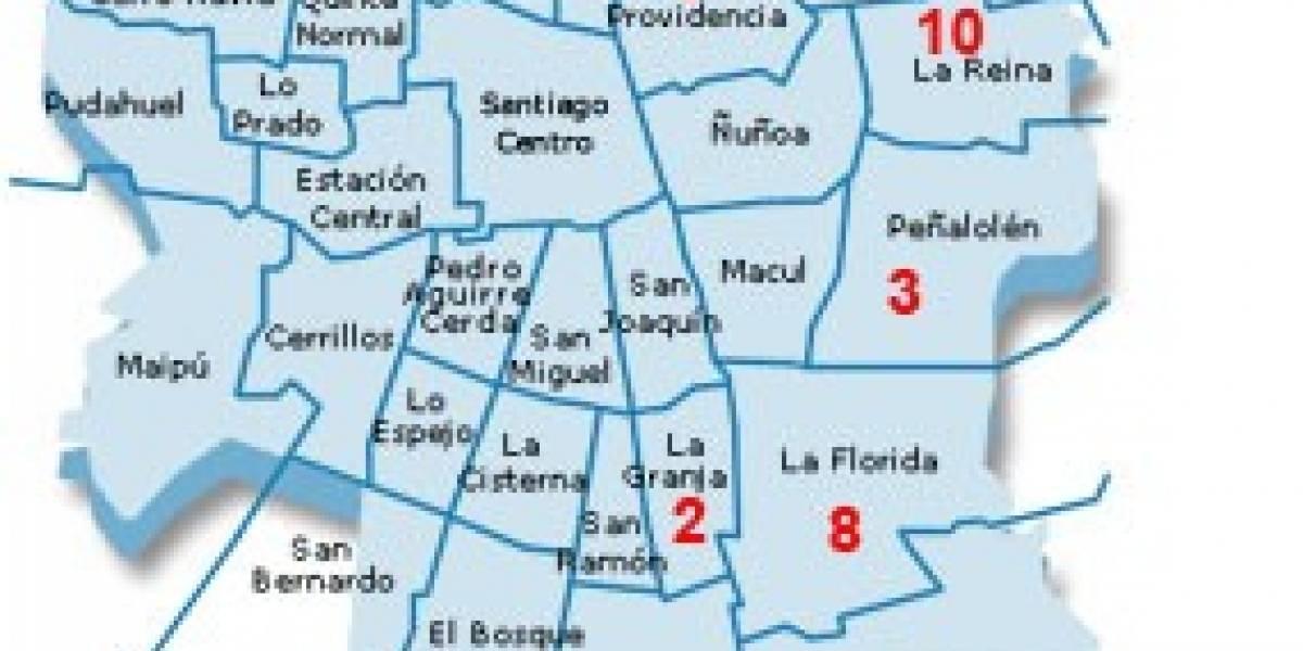 Vitacura es la comuna más digitalizada de Chile