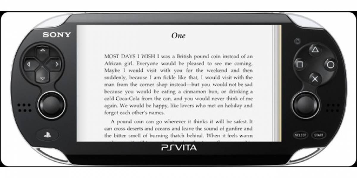 Sony revelaría una plataforma eBook para el PS Vita y PS3 en su próximo evento