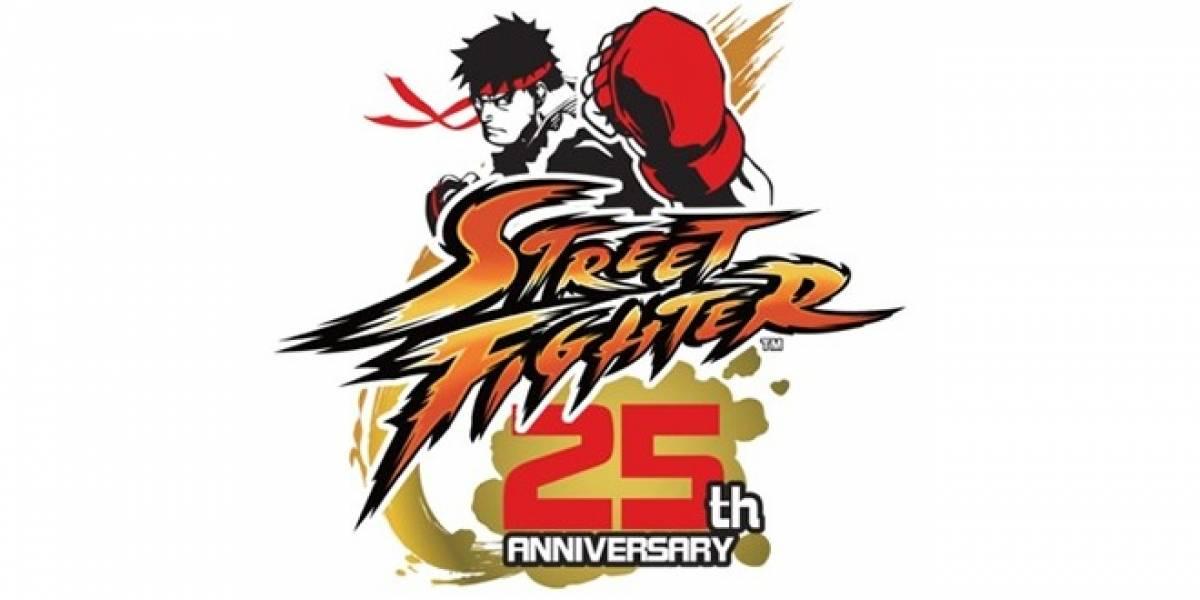 Capcom prepara el 25 aniversario de Street Fighter