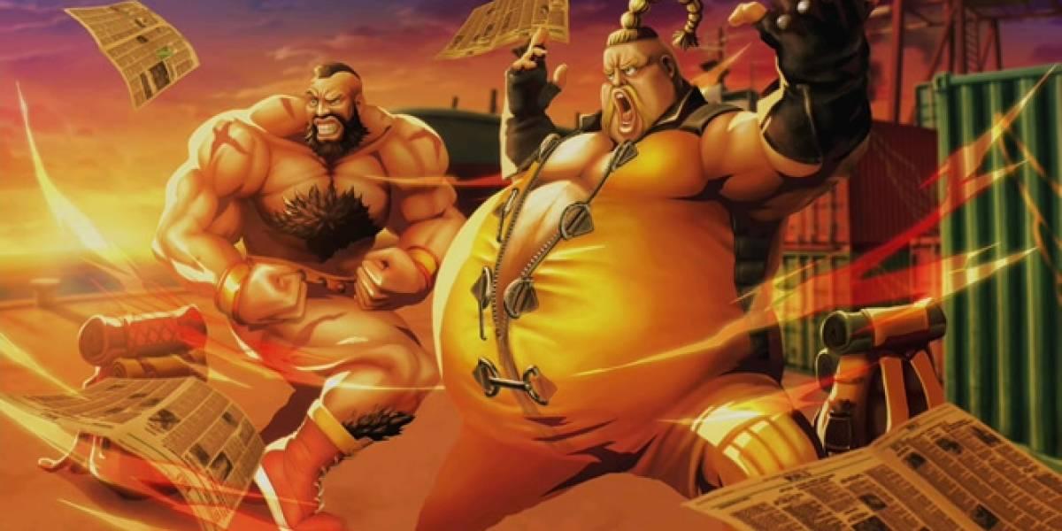 No podrás formar equipos locales para pelear en línea en Street Fighter x Tekken de Xbox 360
