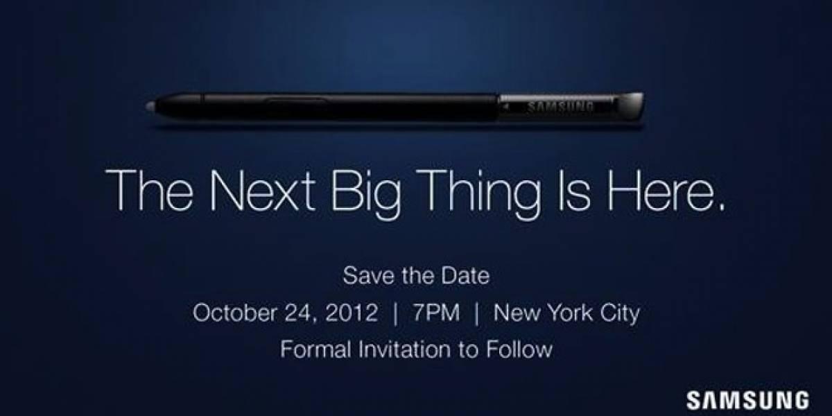Samsung presentará su próximo gran producto el 26 de octubre
