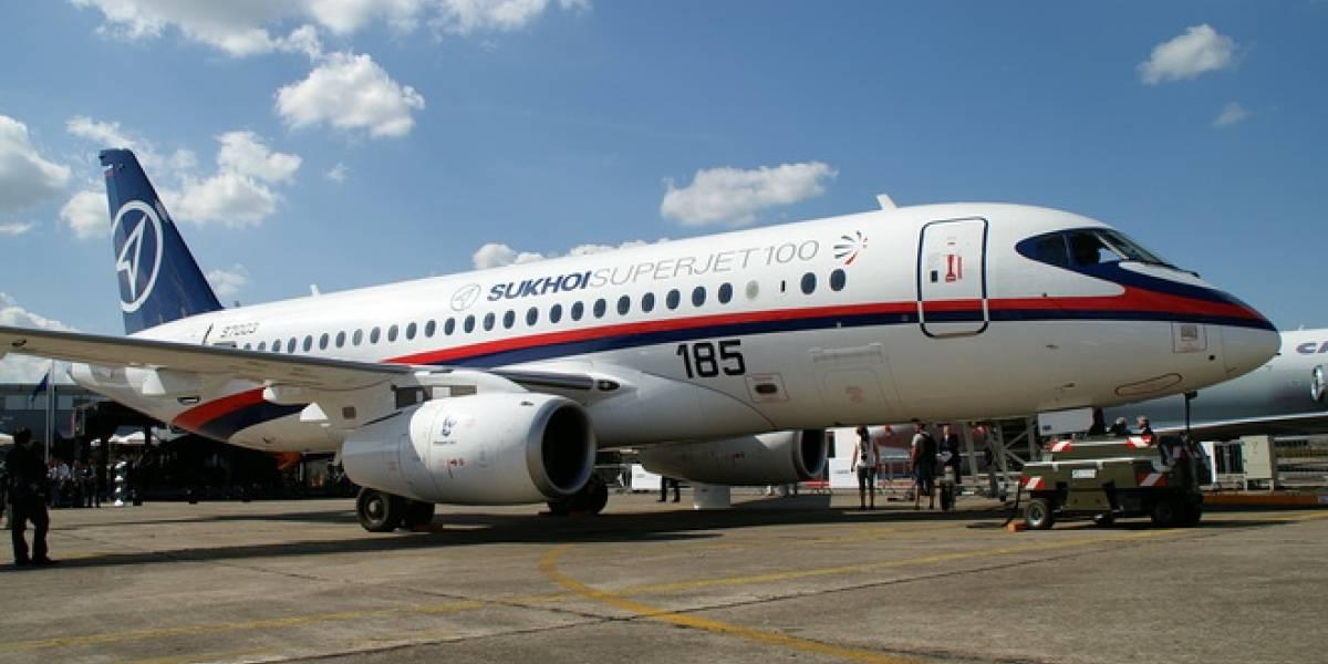 Sukhoi SuperJet 100, el avión que reviviría la industria rusa y que acabó en un terrible accidente